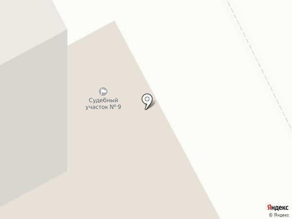 Мировые судьи Калининского района на карте Чебоксар