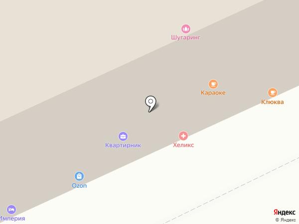 Империя на карте Чебоксар