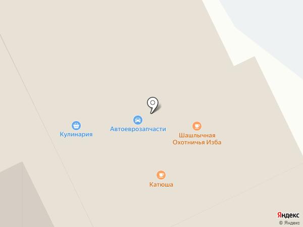 Катюша на карте Кугесей