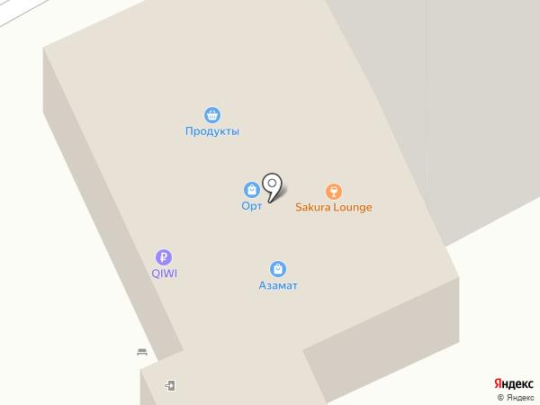 Магазин детского питания на карте Чебоксар