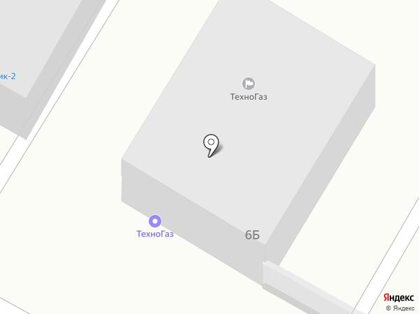 ТехноГаз на карте Чебоксар