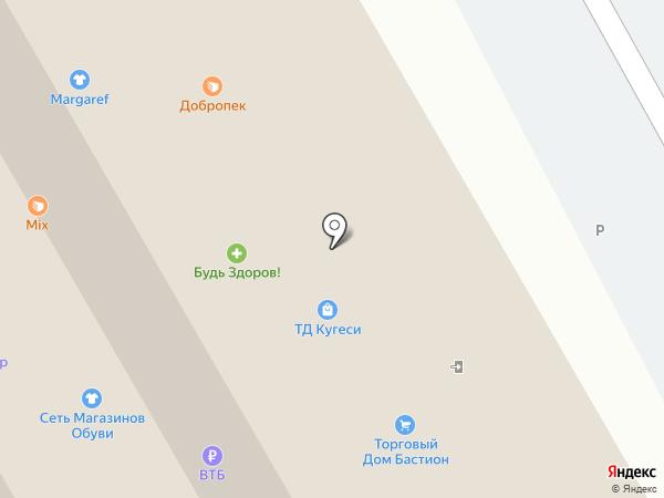 Евгения на карте Кугесей