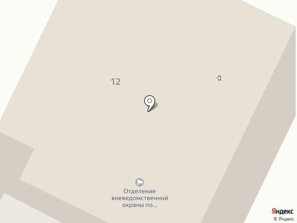 Отдел вневедомственной охраны на карте Кугесей