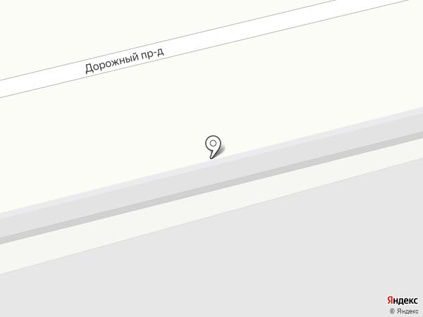 Автостоянка на карте Чебоксар