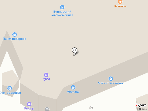 Ломбард Рифор на карте Чебоксар