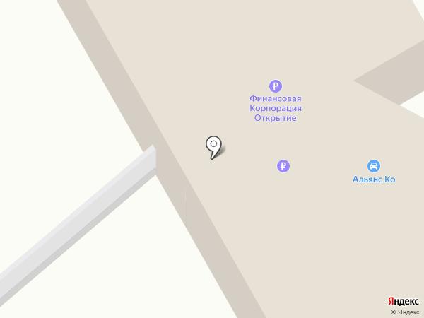 Альянс-Сервис на карте Чебоксар