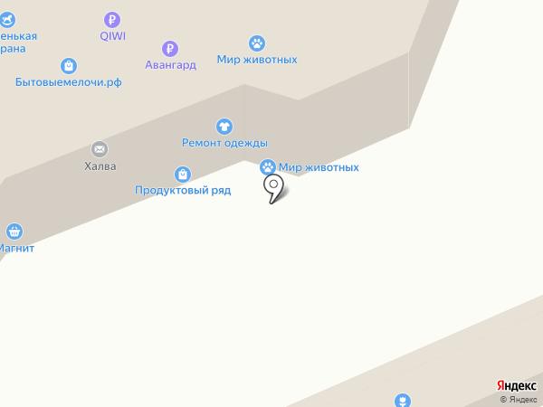 Хлебушко на карте Чебоксар
