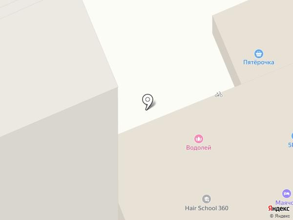 Рамзай на карте Чебоксар
