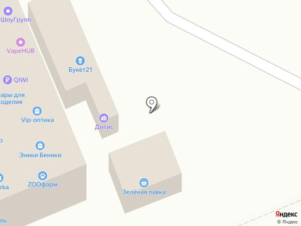 Избушка на карте Чебоксар