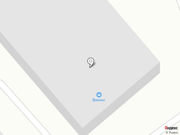 Викинг на карте Чебоксар