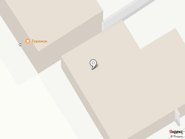 Теремок на карте Чебоксар