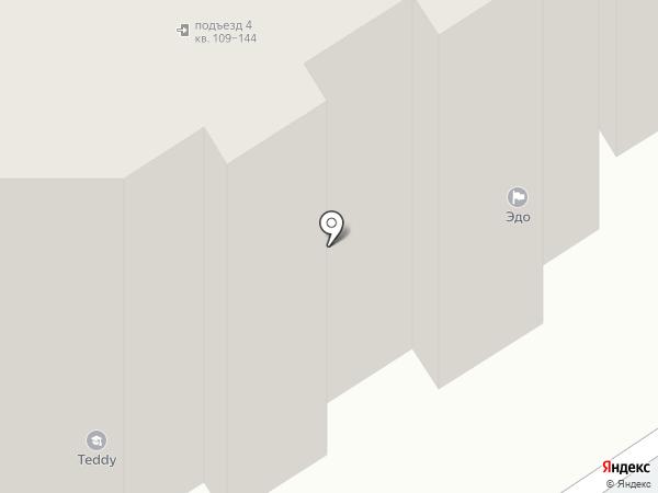 Эдо на карте Чебоксар