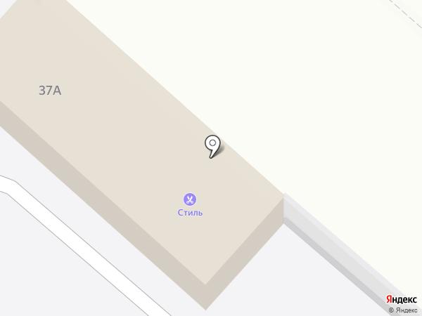 Стиль на карте Новочебоксарска