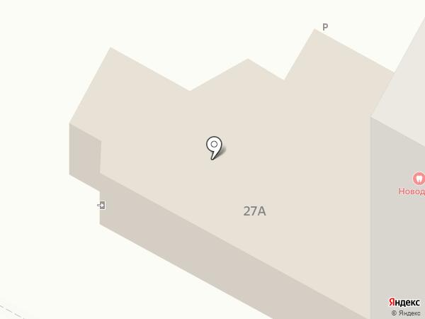 Юбилейный на карте Новочебоксарска