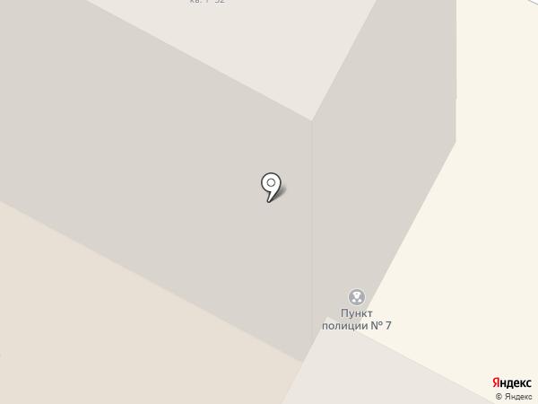 Участковый пункт полиции №7 на карте Новочебоксарска