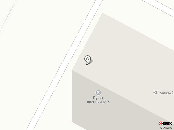 Участковый пункт полиции №6 на карте Новочебоксарска