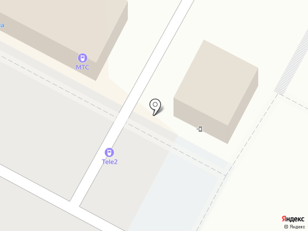 Tele2 на карте Новочебоксарска