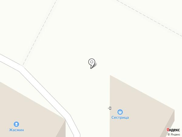 Сестрица на карте Новочебоксарска