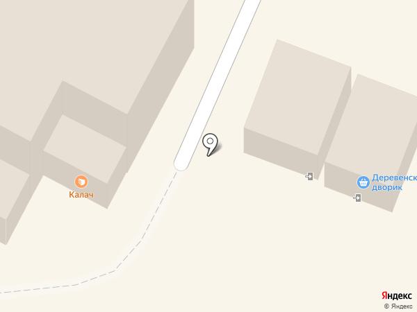 Деревенский дворик на карте Новочебоксарска