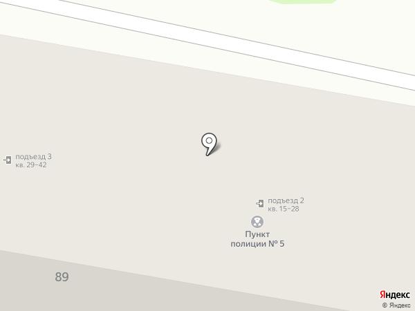 Участковый пункт полиции №5 на карте Новочебоксарска