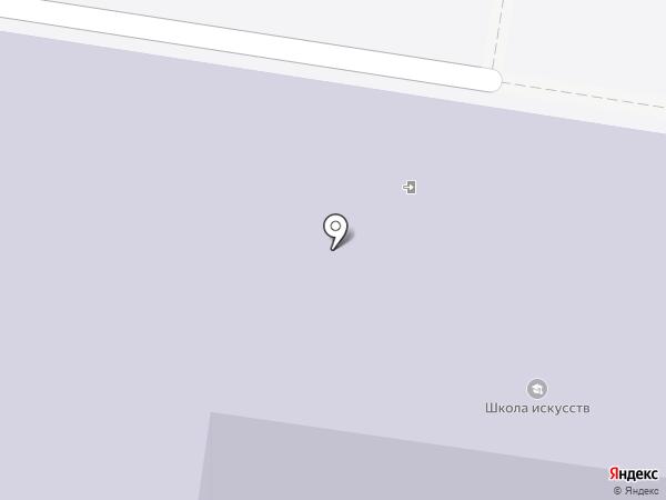 Детская школа искусств на карте Новочебоксарска