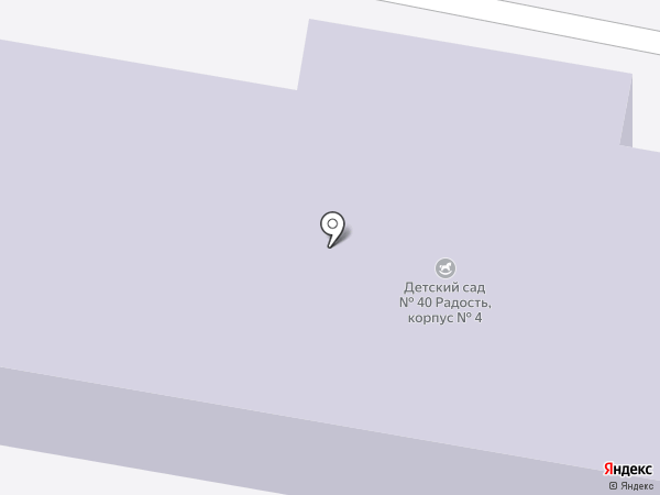 Детский сад №37 на карте Новочебоксарска