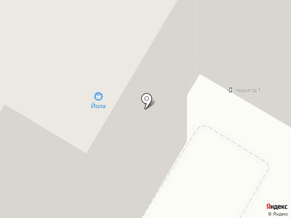 Флэш-1 на карте Новочебоксарска