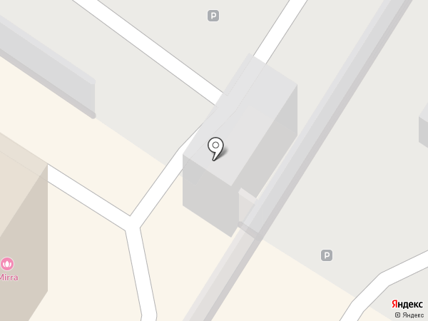 Автостоянка на ул. Винокурова на карте Новочебоксарска