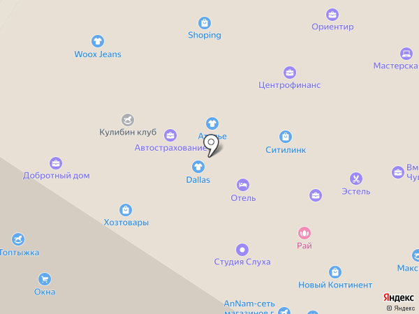 КомпАс на карте Новочебоксарска