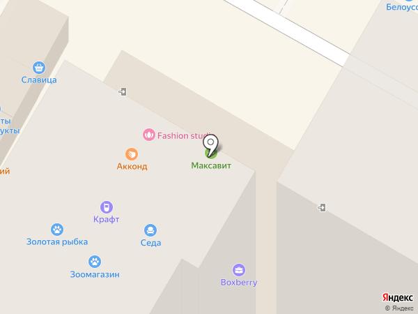 Максавит на карте Новочебоксарска
