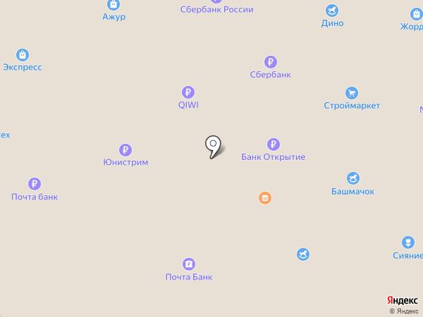 Алюминиевые конструкции на карте Новочебоксарска
