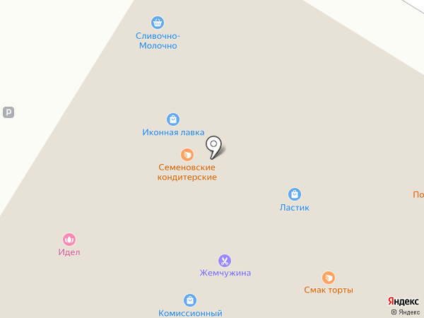 Идель на карте Новочебоксарска
