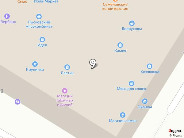 Бочка на карте Новочебоксарска