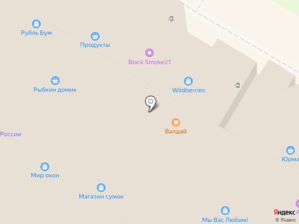 Магазин одежды и домашнего текстиля на карте Новочебоксарска