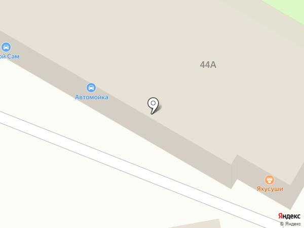 Яху на карте Новочебоксарска