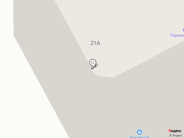 Комплекс на карте Новочебоксарска