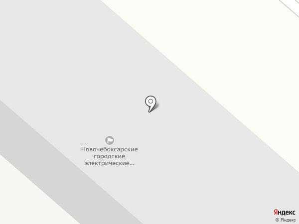 Коммунальные сети, МУП на карте Новочебоксарска