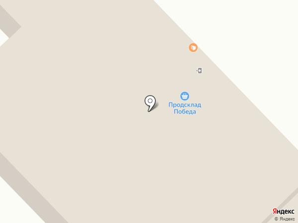 Ночной бульвар на карте Новочебоксарска