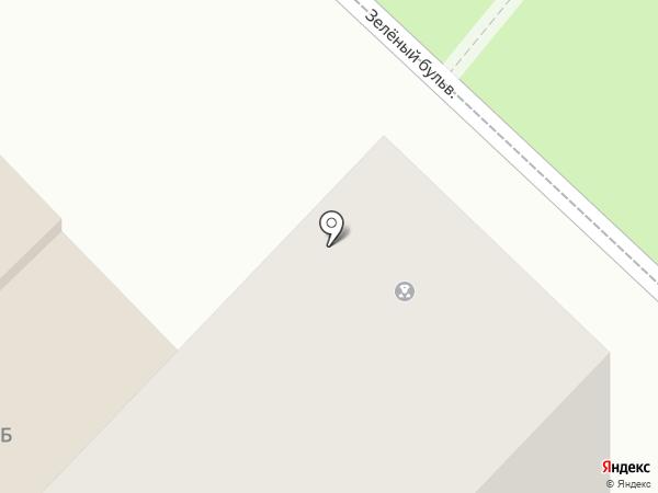 Участковый пункт полиции №2 на карте Новочебоксарска