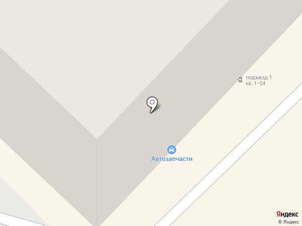 Магазин автозапчастей на карте Новочебоксарска