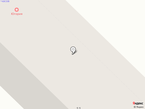 Гавань на карте Новочебоксарска
