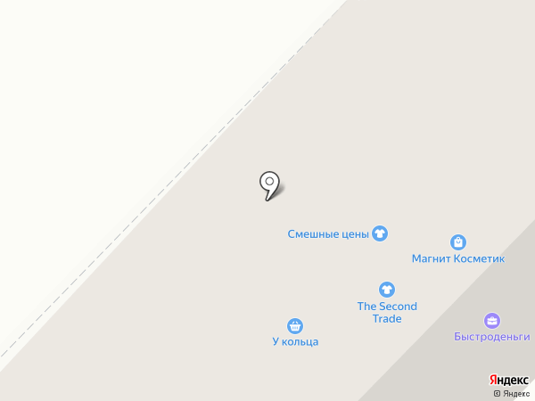 Магнит на карте Новочебоксарска