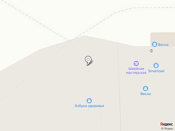Магазин по продаже семян на карте Новочебоксарска