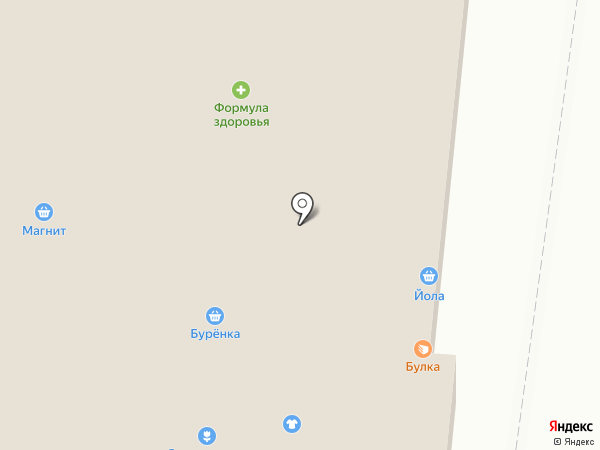 Буренка на карте Новочебоксарска
