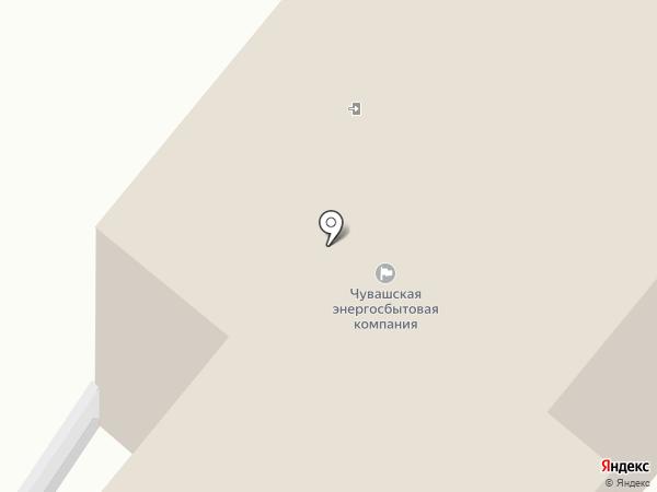 Новочебоксарское межрайонное отделение на карте Новочебоксарска