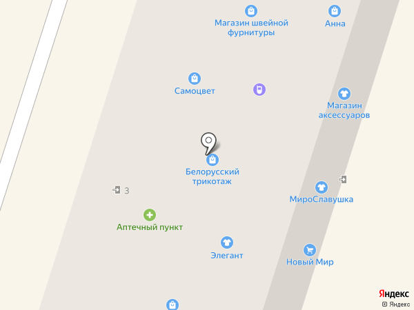 Элегант на карте Новочебоксарска
