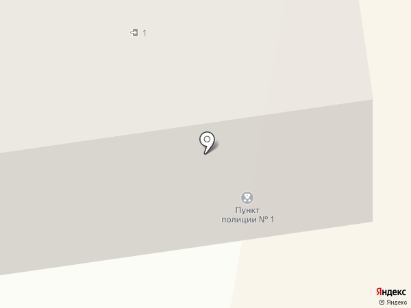Участковый пункт полиции №1 на карте Новочебоксарска