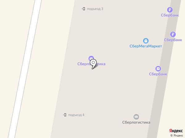 Меланж на карте Новочебоксарска