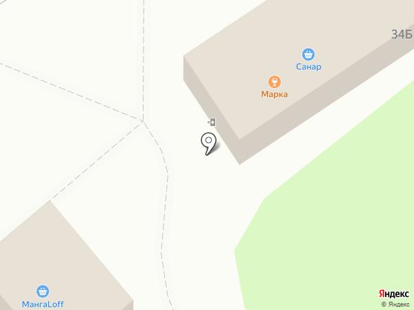 МарКа на карте Новочебоксарска