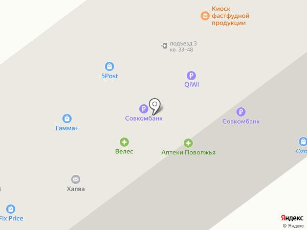 Пивоман на карте Новочебоксарска